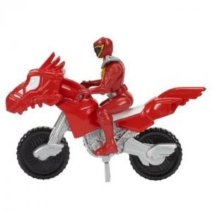 Dino Charge Figürlü Mini Dinosiklet (Kırmızı)