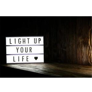 A4 Işıklı Mesaj Kutusu