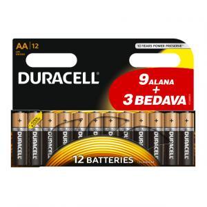Duracell Kalem Pil AA 9+3