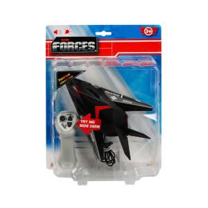 Air Forces Kablo Kumandalı Sesli ve Işıklı Stealth Fighter Jet