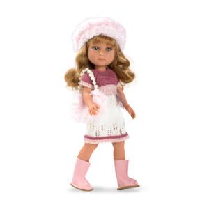 Carlota Şapkalı Bebek 36 cm.