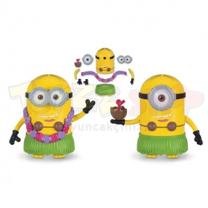 Minions 3 Figürleri 13-16 cm. (Build A Minnion Dave/Stuart)