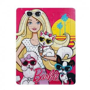 36 Parça Puzzle : Barbie ve Havalı Köpekleri