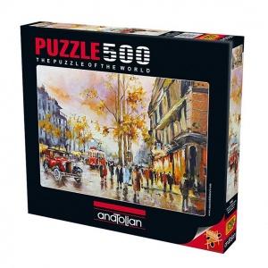 500 Parça Puzzle : İstanbulda Akşamüstü