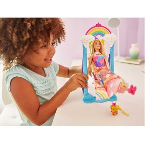 Barbie Dreamtopia Gökkuşağı Prensesi Ve Salıncağı FJD06