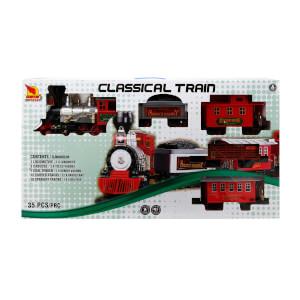 Klasik Tren Seti Sesli ve Işıklı 35 Parça