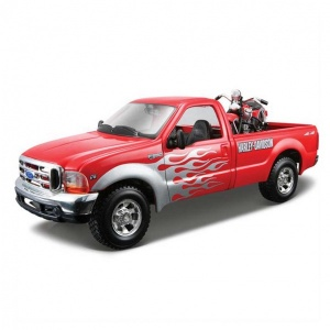 1:27 Maisto Ford F-350 Pickup 1999 Model Araba