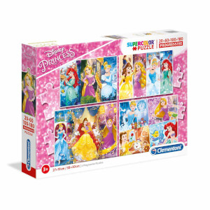 4 in 1 Puzzle : Disney Princess