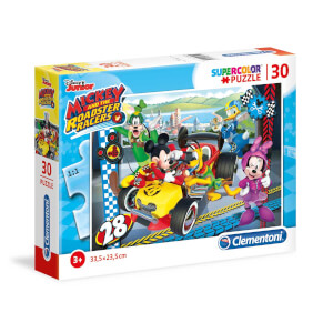 30 Parça Puzzle : Mickey and the Roadster Racers