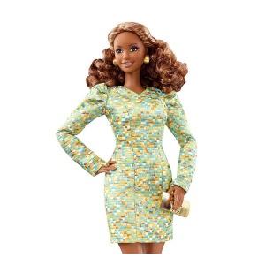Barbie'nin Süper Tarz Modelleri DYX61 (Altın Elbise)