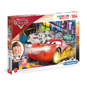 104 Parça 3D Puzzle : Soog Cars 2