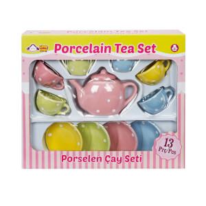Porselen Çay Seti 13 Parça