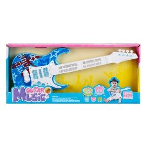 Işıklı ve Müzikli Elektronik Gitar