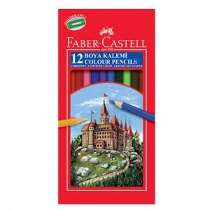 Faber Castell Kuru Boya Kalemi 12 Renk