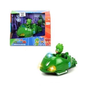 1:43 PijaMaskeliler Sesli ve Işıklı Mission Racer Gekko ve Aracı