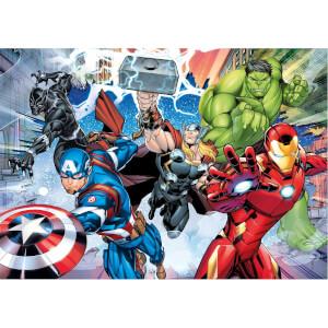 60 Parça Puzzle : Avengers