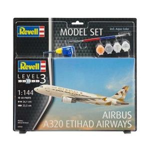 Revell 1:144 Model Set Uçak A320 Etihad