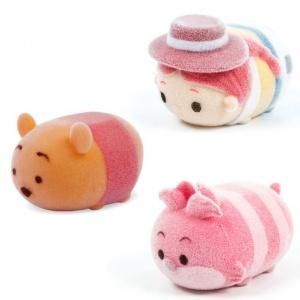 Tsum Tsum 4'lü Figür S2 (Winnie The Pooh-Jessie-Cheshire Cat)