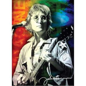 1000 Parça Puzzle : John Lennon Live In New York