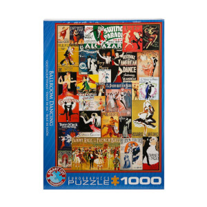 1000 Parça Puzzle : Ballroom Dancing
