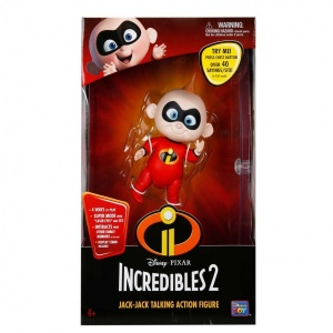 The Incredibles 2 Baby Jack - Hareketli Figür 14 cm.
