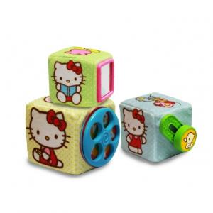 Hello Kitty 3'lü Aktivite Küpleri