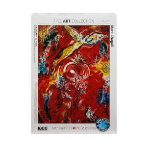 1000 Parça Puzzle : The Triumph of Music - Marc Chagall