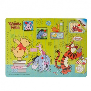 Woody Winnie The Pooh Ahşap Raptiyeli Bultak