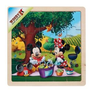 Mickey Mouse Ahşap Puzzle 20 Parça