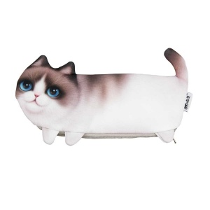 Kedi Şekilli Kalem Kutusu