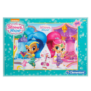 100 Parça Puzzle : Shimmer and Shine S.C.