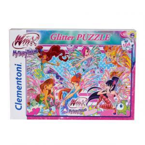 104 Parça Puzzle : Winx Glitter Girl