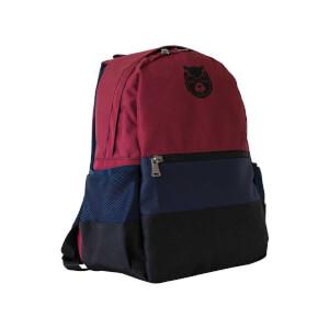 Bear & Deer Okul Çantası Bordo-Lacivert CN0004