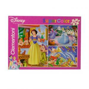 3 x 48 Parça Puzzle : Disney Princess