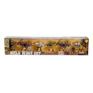 Kovboy 8'li Mini Figür Seti