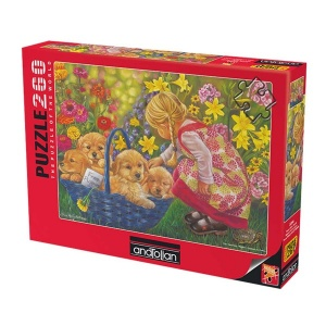 260 Parça Puzzle : Sevgi Dolu Sepet
