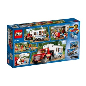 LEGO City Pikap ve Karavan 60182