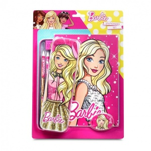 Barbie 6'lı Kırtasiye Set