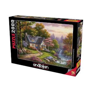 2000 Parça Puzzle : Şelaleli Konak