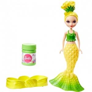 Barbie Baloncuklu Küçük Denizkızı (Sarı Elbise)