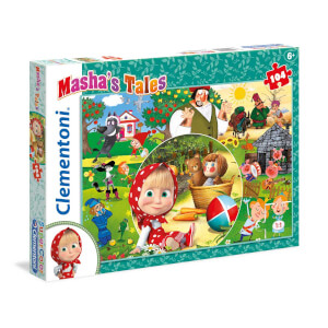 104 Parça Puzzle : Masha and the Bear 2