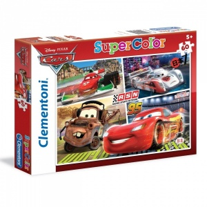 60 Parça Puzzle : Cars