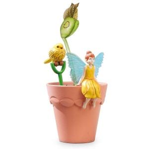My Fairy Garden Mini Sarı Peri Saksısı