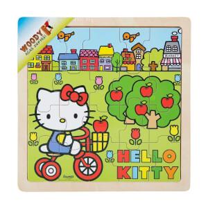 Hello Kitty Doğa Ahşap Puzzle