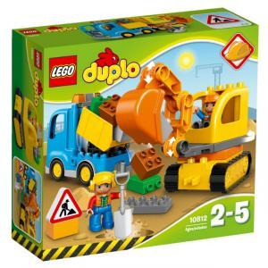 LEGO DUPLO Kamyon ve Paletli Kazıcı 10812