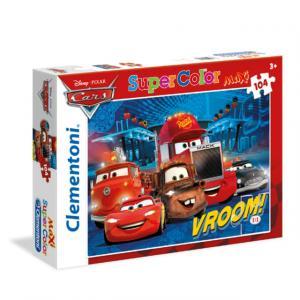 104 Parça Maxi Puzzle : Cars Vroom