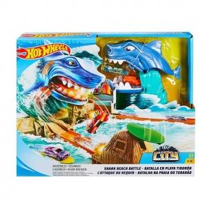 Hot Wheels Köpek Balığı Macerası Oyun Seti FNB21
