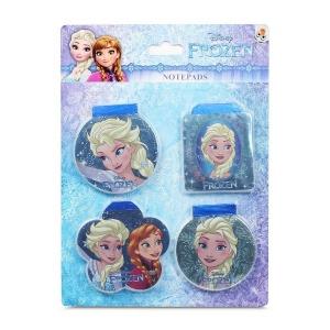 Frozen 4'lü Not Defteri