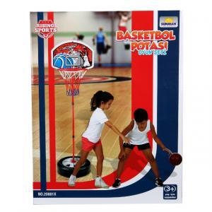 Ayaklı Basketbol Potası 93-120 cm.