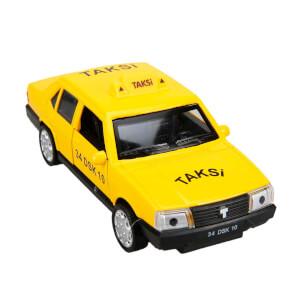 1:32 Sesli ve Işıklı Taksi 13 cm.